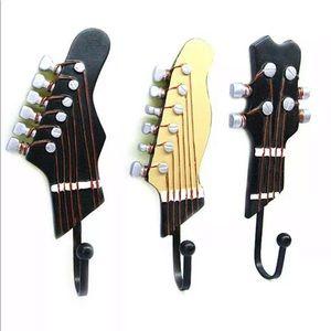 Guitar wall hooks